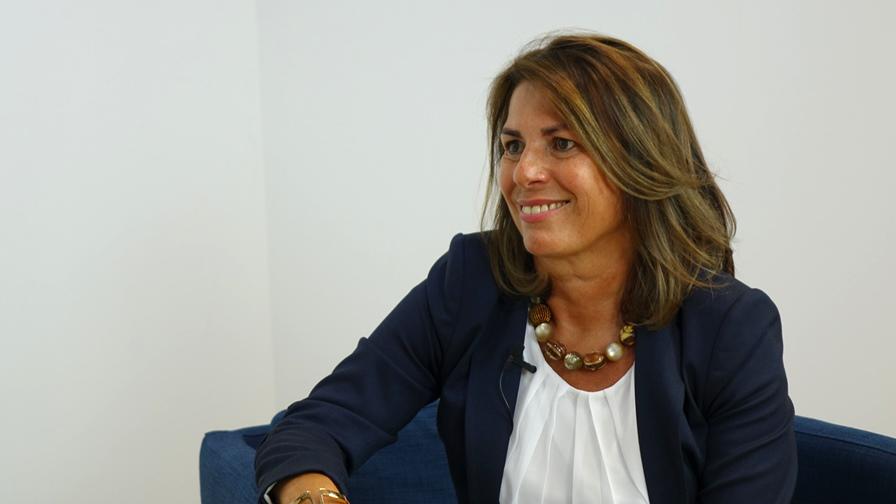 Dr. Angela Stöger-Frank, die Leiterin des Evidenzbüros des BFG, im Interview mit Dr. Martin Vock. (Bild: © Linde Verlag)