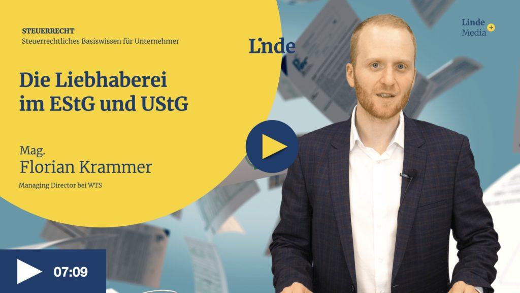 VIDEO: Die Liebhaberei im EStG und UStG – Florian Krammer
