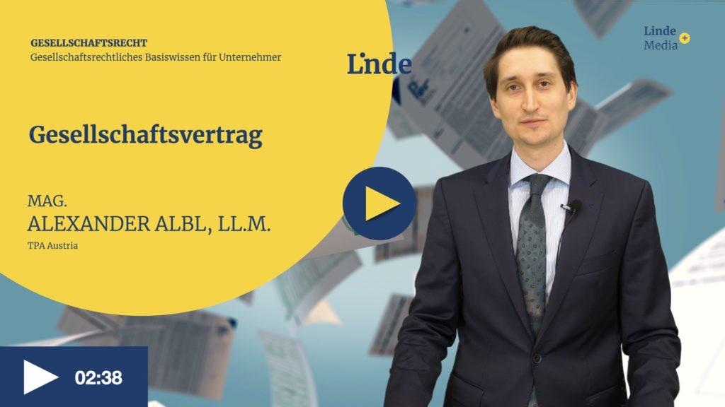 VIDEO: Gesellschaftsvertrag