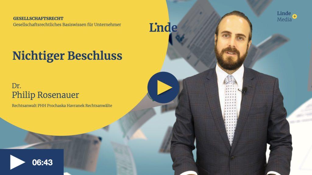 VIDEO: Nichtiger Beschluss – Philip Rosenauer